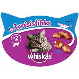 Whiskas Whiskas Les Irrésistibles - Friandises au saumon pour chats la boite de 60 g