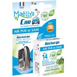 Car - Recharge Air Pur et Sain huiles essentielles B...