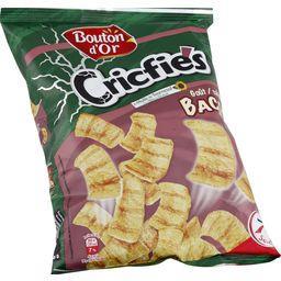 Biscuits apéritifs Criftie's goût bacon