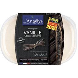 L'Angelys L'Angelys Crème glacée vanille gousses entières le bac de 450 g