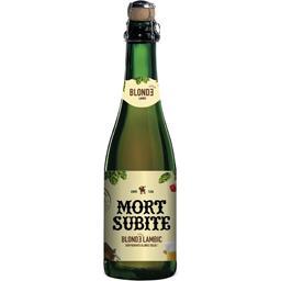 Bière blonde lambic