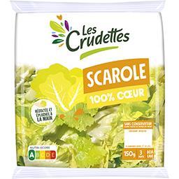 Les Crudettes Les Crudettes Scarole 100% cœur le sachet de 150 g