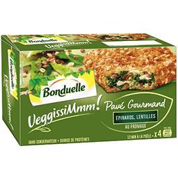 VeggissiMmm! - Pavé gourmand épinards lentilles from...