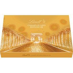 Lindt Assortiment de chocolats Champs-Elysées Edition Or