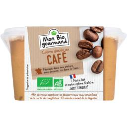 Mon Bio gourmand Crème glacée au café BIO le bac de 310 g