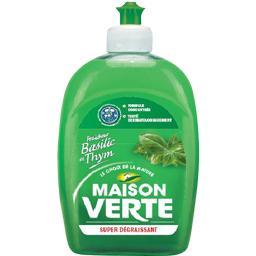 Liquide vaisselle super dégraissant fraîcheur basilic thym