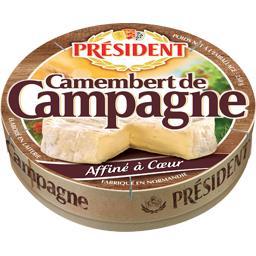 Président Président Camembert de Campagne la boite de 250 g