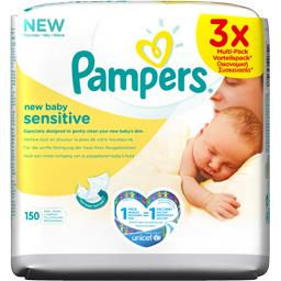 new baby - sensitive - lingettes bébé