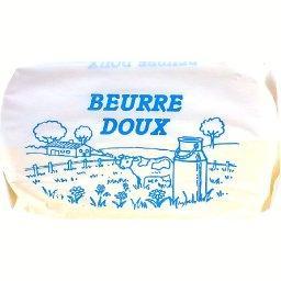 Beurre doux, la plaquette de 500g