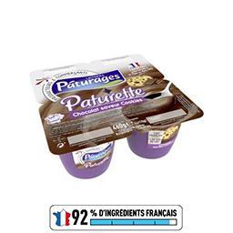 Paturette - Crème dessert chocolat saveur cookies