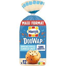 Harry's Harrys Doo Wap - Brioches pépites choco lait le paquet de 12 - 480 g