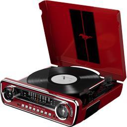 Mallette de rangement H Vinilcase pour vinyles noir