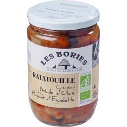 Ratatouille à l'huile d'olive et au piment d'Espelette BIO