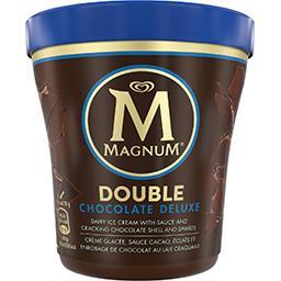 Magnum Magnum Glace double chocolat deluxe le pot de 310g