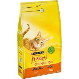 Friskies Friskies Croquettes au poulet et légumes pour chats le sac de 4 kg