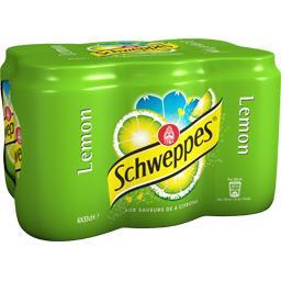 Soda Lemon aux saveurs de 4 citrons