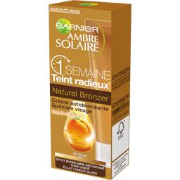 Crème autobronzante visage Natural bronzer 1 semaine médium