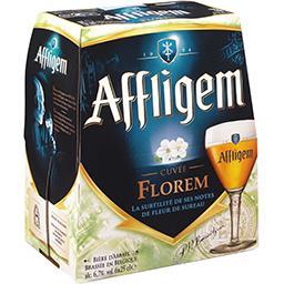 Affligem Abbaye d' Bière cuvée Florem aromatisée fleur de sureau