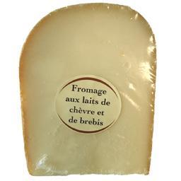 Fromage aux laits de chèvre et de brebis