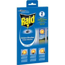Raid Auto-collant anti-mouches forme soleil, jusqu'à 4 mo...