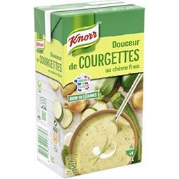 Knorr Knorr Soupe Douceur de courgettes au chèvre frais la brique de 1 l