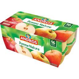 Dessert fruitier pomme nature