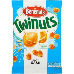 Twinuts - Cacahuètes double couche de biscuit, goût ...
