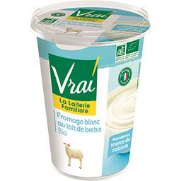 Fromage blanc au lait de brebis BIO