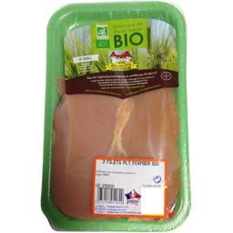 Filets de poulet fermier bio