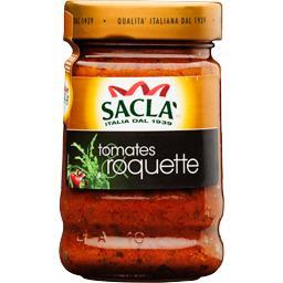 Sauce aux tomates et à la roquette