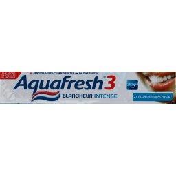 Dentifrice au fluor blancheur intense