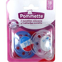 Sucettes silicone 0/6 m T1