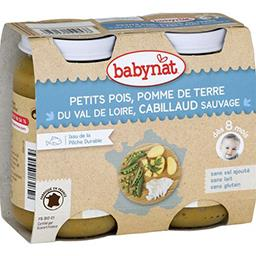 Menu du Jour - Petits pois, pomme de terre & cabilla...