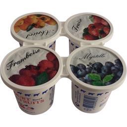 Yaourt sucrés avec des fruits
