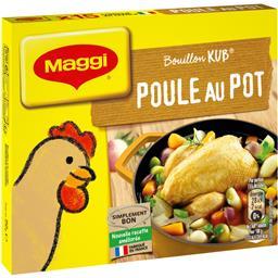 Maggi Bouillon Kub poule au pot la boite de 15 cubes - 150 g