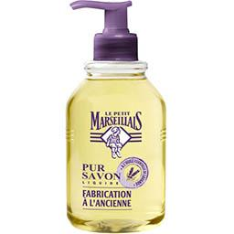 Le Petit Marseillais Le Petit Marseillais Pur savon liquide huile essentielle de lavande le flacon de 300 ml