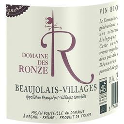 Beaujolais villages BIO, vin rouge