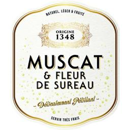 Muscat Beaumes de Venise Origine 1348 - Cocktail Muscat et Fleur de Sureau vin Blanc moelleux