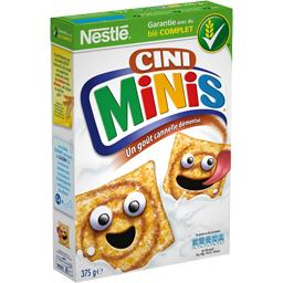 Nestlé Nestlé Céréales Céréales Cini Minis goût cannelle la boite de 375 g