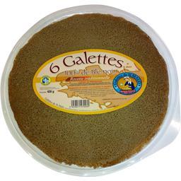 Galettes 100% de blé noir, recette traditionnelle