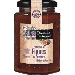 Préparation de figues de Provence