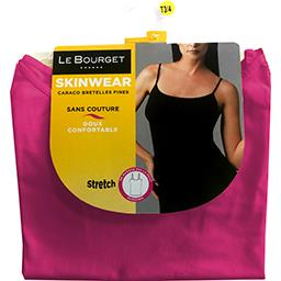 Caraco Skinwear bretelles fines taille 3/4 rose