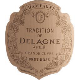 Champagne Delagne Tradition vin Rosé