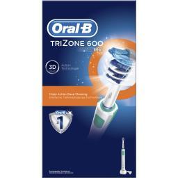 Oral B Oral B Brosse à dents électrique rechargeable trizone 600 Le kit d'1 manche + 1 brossette + 1 chargeur
