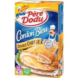 Père Dodu Cordon bleu Double Cheese
