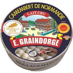 E. Graindorge Camembert de Normandie lait cru AOP