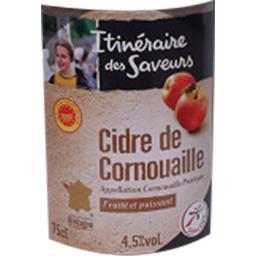 Cidre artisanal de Cornouaille AOP