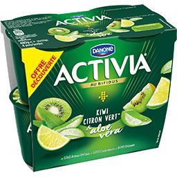 Danone Danone Activia - Spécialité laitière kiwi citron vert & alo...