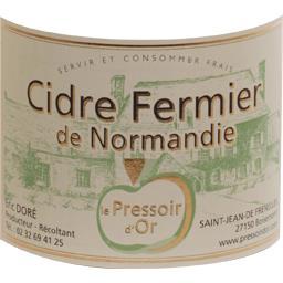 Cidre fermier de Normandie