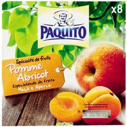 Dessert de fruits pomme abricot